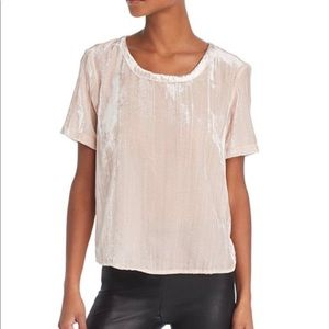 Splendid soft velvet t shirt